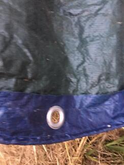 Two extra large tarps