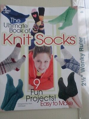 The Ultimate book of Knit Socks Great book for the Beginner or Experienced KnitR