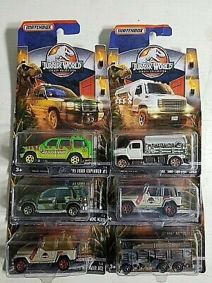 2018 Matchbox Jurassic World Lot of 6