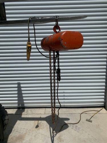 CM Loadstar L 1 ton Electric Chain Hoist (6 ft lift)