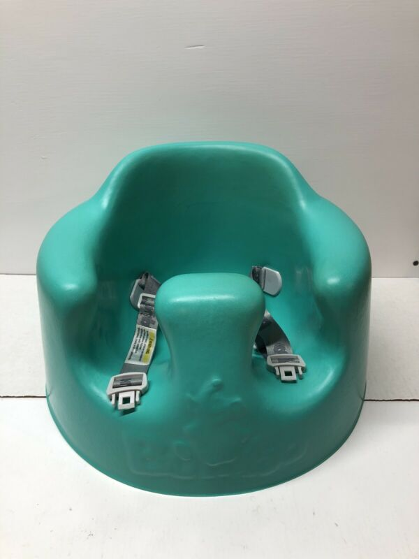 Baby Bumbo Floor Seat w/Safety Strap In Aqua