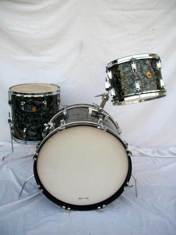 vintage ludwig drum set ebay. Black Bedroom Furniture Sets. Home Design Ideas