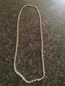 9ct gold belcher chain Port Kennedy Rockingham Area Preview