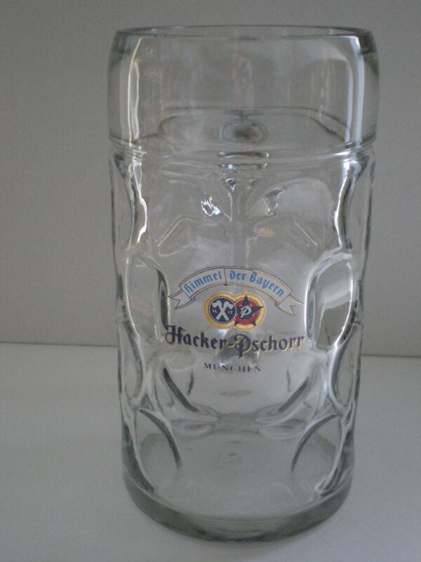 HACKER PSCHORR MUNICH GERMAN BEER MUG / 1L MADE IN AUSTRIA
