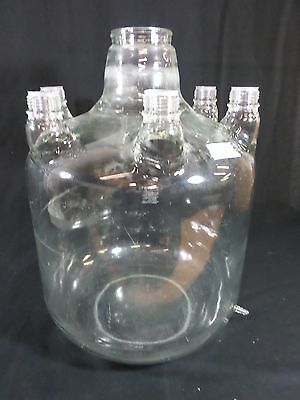 Large Bellco 36l 12 Gallon Vertical 6 Sidearm Bioreactor Vessel Spinner Flask A