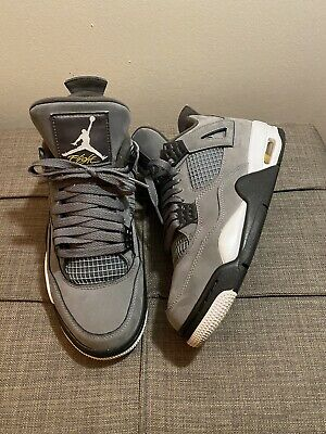 "2019 Air Jordan 4 Retro ""Cool Grey"" Size 8 308497 007 NO BOX"