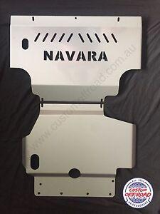 Nissan Navara D40 2006 to 2011, Bash Plates - Spanish/Thai ST St-X RX