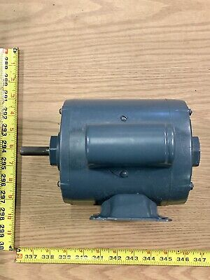 Westinghouse 14hp Single Shaft Electric Motor 1725 Rpm 115v 1 Phase Sb56z Frame