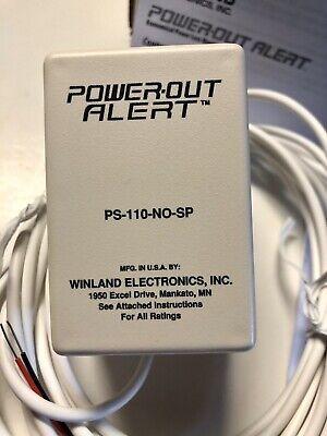 Power-out Alert Ps-110 Sensaphone Fgd-0054