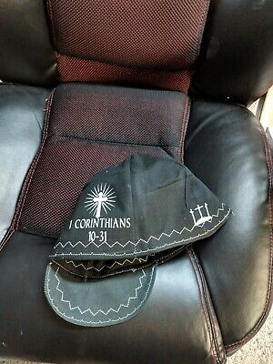 Wendys Welding Hat Made With Religious Theme New