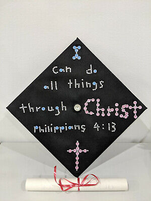 Graduation Bible Verses (Graduation Cap with Special Design (Bible)