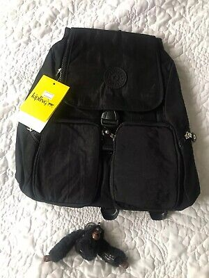 Kipling backpack/bag Black Colour , Firefly UP dazz ,NEW all tags,