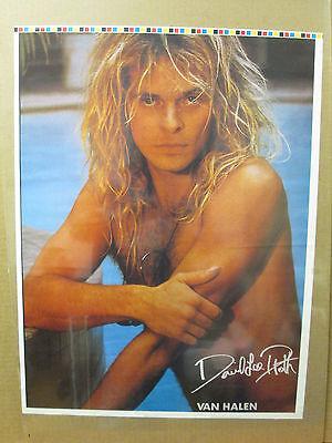 Van Halen rock n roll  Vintage Poster vintage David Lee Roth small -