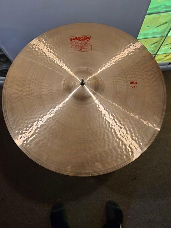 """Paiste 2002 24"""" Ride Cymbal"""