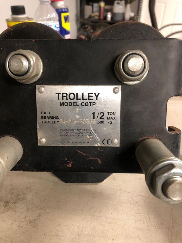 CM CBT Plain Trolleys 1/2 Ton Capacity