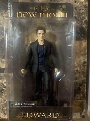 The Twilight Saga New Moon Edward Cullen Collectible Action Figure New In Box