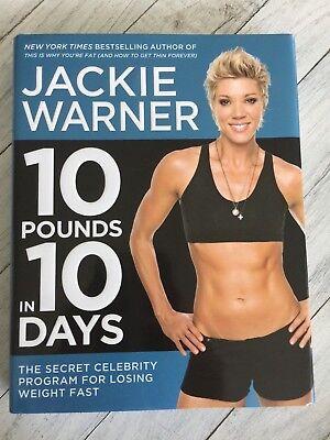 10 Pounds In 10 Days by Jackie Warner The Secret Celebrity Program Losing