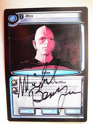 Autographed  2E  Rixx  (Michael Berryman)