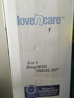 Love and Care Sleep n Go portable cot West Perth Perth City Preview