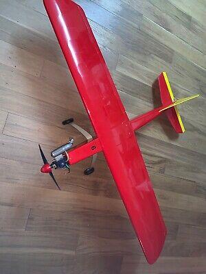 "62"" Wing Span RC Aeroplane Aircraft Plane Used Wot 4 Type"