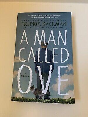 A Man Called Ove: A Novel by Fredrik Backman - Paperback