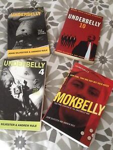 Underbelly books set of 4 Chirnside Park Yarra Ranges Preview
