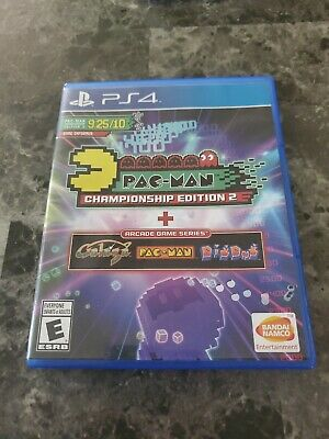 Pac-Man Championship Edition 2 + Arcade Game Series (Sony PS4, 2016) EUC