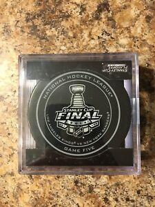 2014 Stanley cup game puck - game five