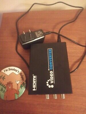 Composite & S-Video to HDMI Converter Upscaler