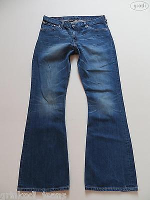 Levi's® 516 Schlag Jeans Hose W 36 /L 34 Flared Denim Schlaghose, Hippie Trend ! online kaufen
