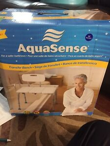 Aqua sense transfer bench bath bench brand new over $87