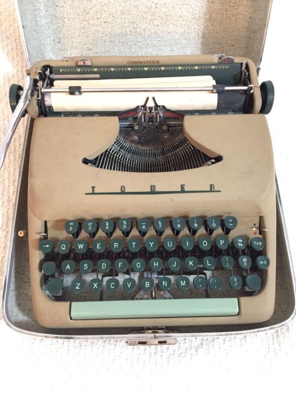 Sears Tower Commander Typewriter 1957
