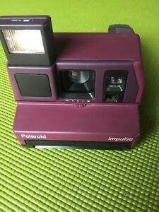 Polaroid impulse vintage camera