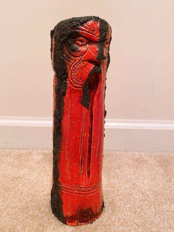 Liki Tiki Tiki Mug Oakwash Disney Trader Sam's Lava Stone Edition Of 25. Low #