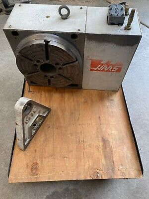 Haas Hrt310 Indexer 4th Axis With 12 Chuck Brush-less