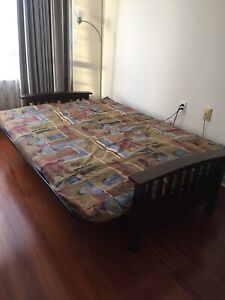 Double size futon bed or couch