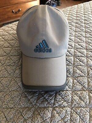 Adidas Adizero Gray Turquoise Baseball Hat Mens Womens One Size Climacool