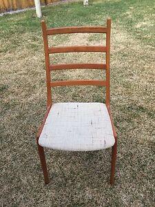 1960 Danish Teak  Chairs