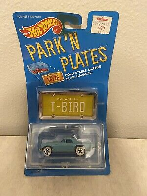 1988 Hot Wheels * Park 'N Plates car :** '57 T-BIRD ** new in package