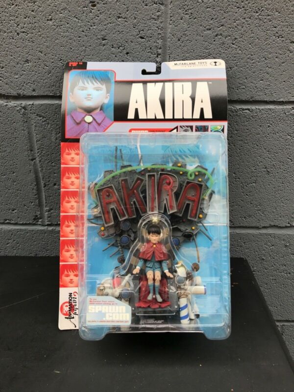 Akira And Throne Mcfarlane Toys Figure Sealed In Box New