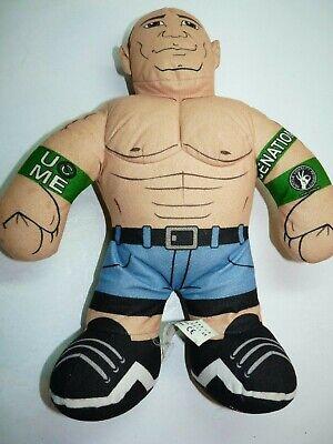"WWE Wrestling Brawlin Buddies Plush 16"" Jon Cena CenaNation Arms Down"