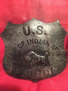 Police Badge - US Bureau of Indian Affairs