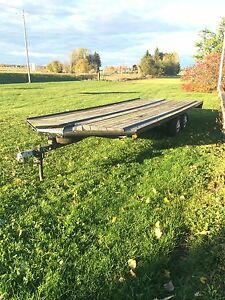4 place sled or atv trailer