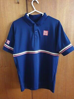 Uniqlo Kei Nishikori Tennis Polo Shirt 2018 UK Small