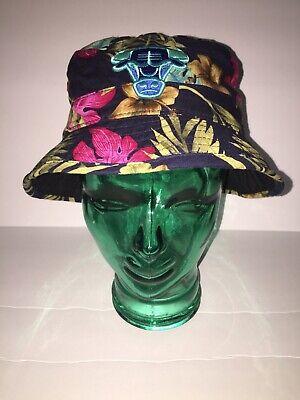 Mitchell & Ness NBA Chicago Bulls Fitted Hawaiian Unisex Bucket Hat Sz S/M