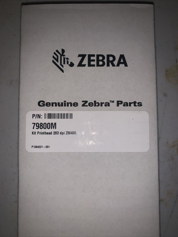 Zebra ZM400 Kit Printhead 203dpi NEW PN 79800M Never Open