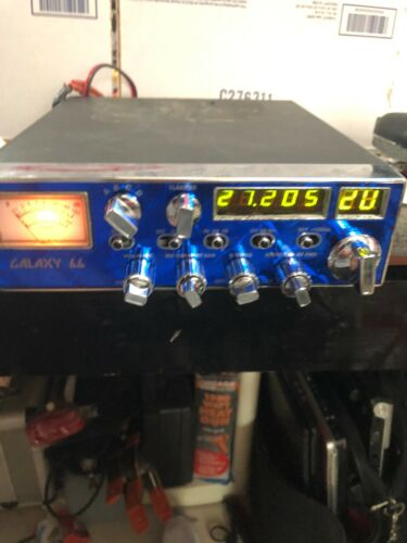 OLD SCHOOL GALAXY DX 66 V 10 METER  RADIO
