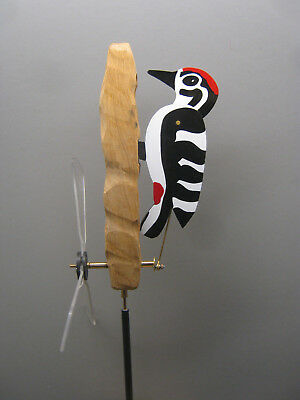 wind vane woodpecker whirligig