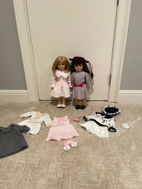 Samantha and Nelly American Girl Dolls