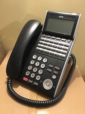 Nec Dtl-24d-1 Bk Tel Dt300 Telephone Dlvxdz-ybk Black Tested 1 Year Warranty